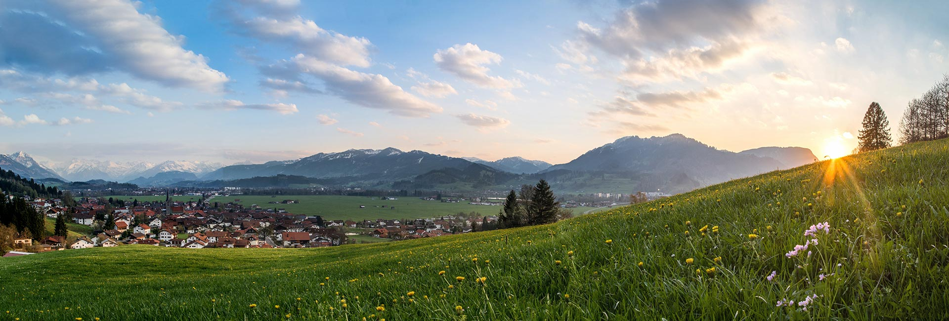 Burgberg im Allgäu Panorama
