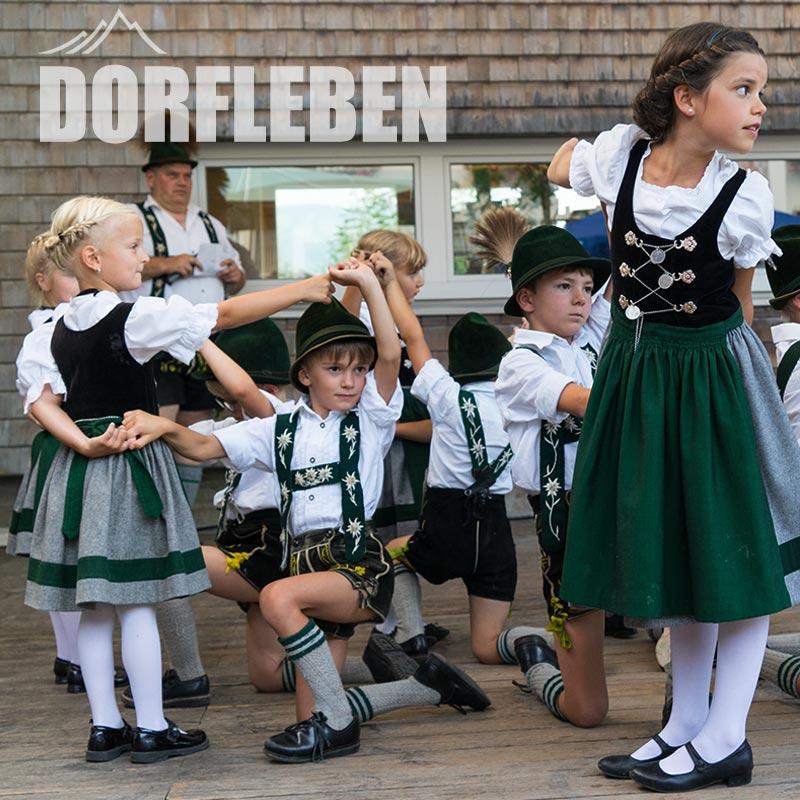 Burgberg im Allgäu Dorfleben