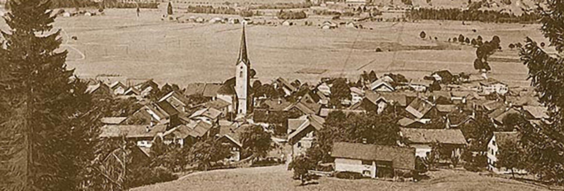 Historie Burgberg im Allgäu