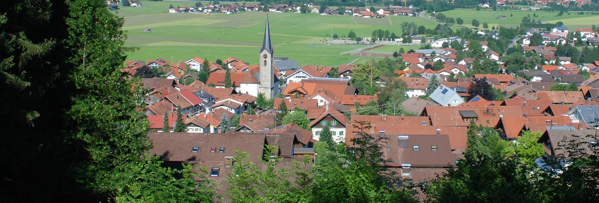 Kirche Burgberg im Allgäu