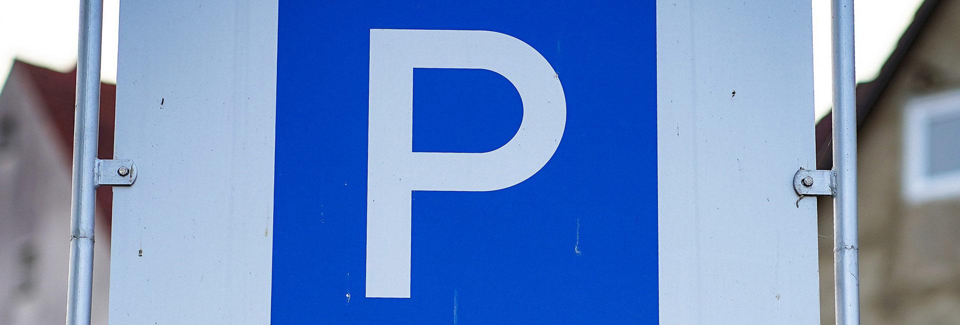 öffentliche Parkplätze