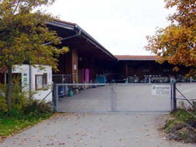 Wertstoffhof Burgberg im Allgäu