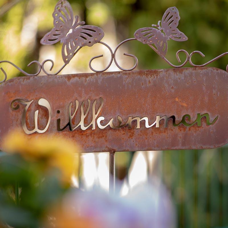 Dorfleben Asyl Burgberg im Allgäu