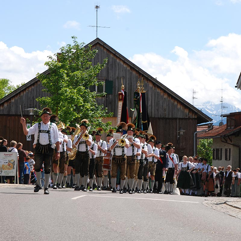 Dorfleben Burgberg im Allgäu Vereine