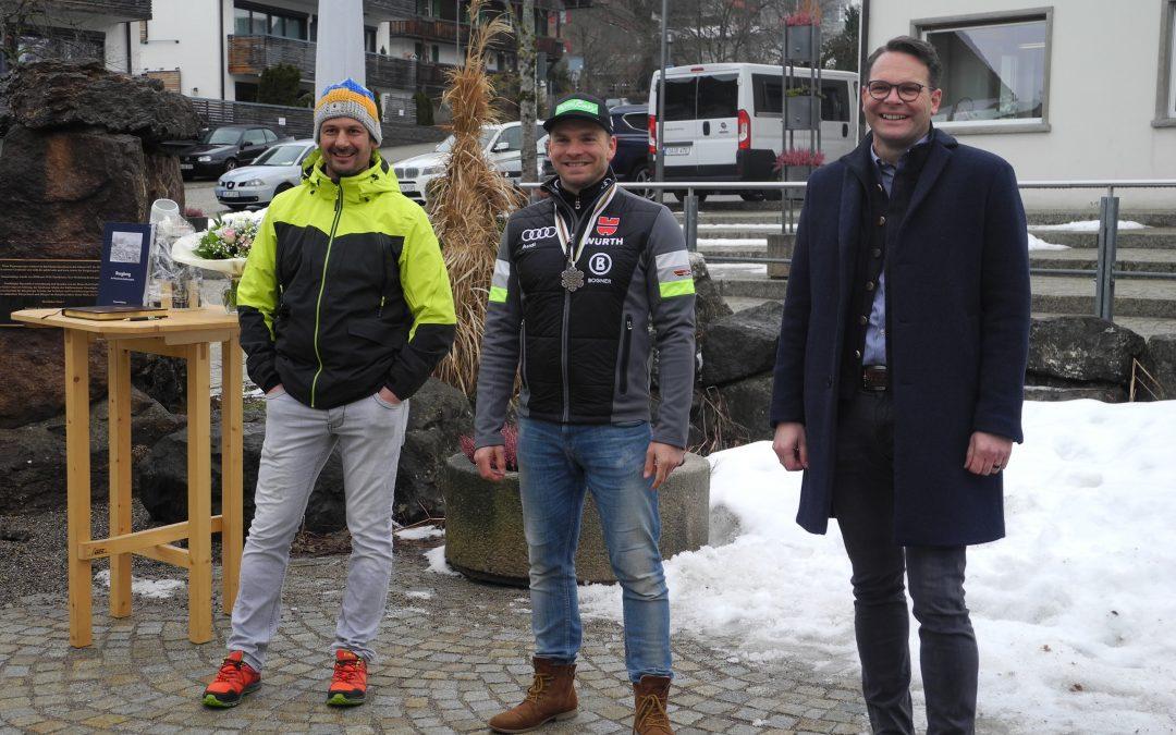 Burgberg empfängt den Silbermedaillengewinner Andreas Sander!
