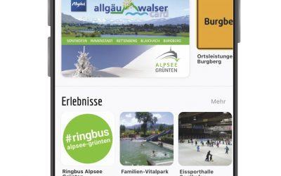 Jetzt neu: Die Allgäu-Walser-App