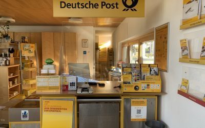Umzug der Postfiliale